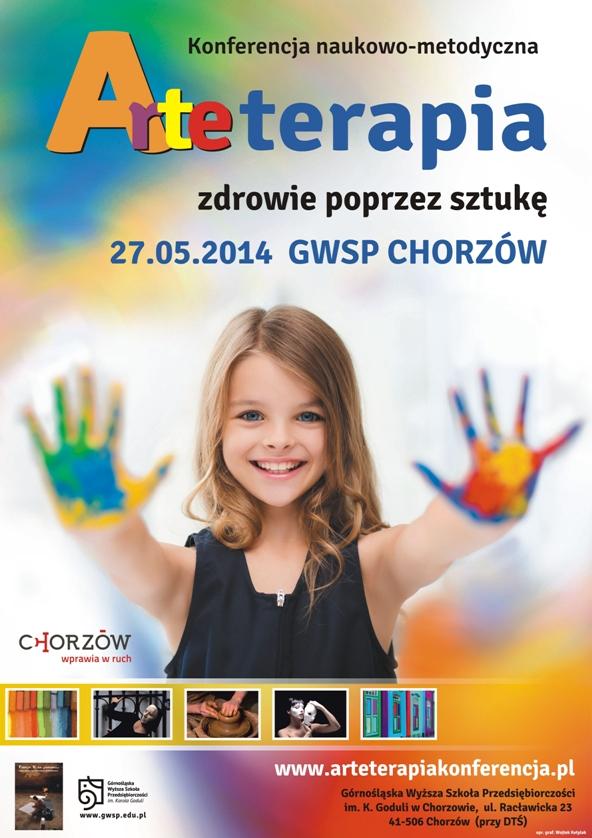Arteterapia Konferencja 2014 - Plakat