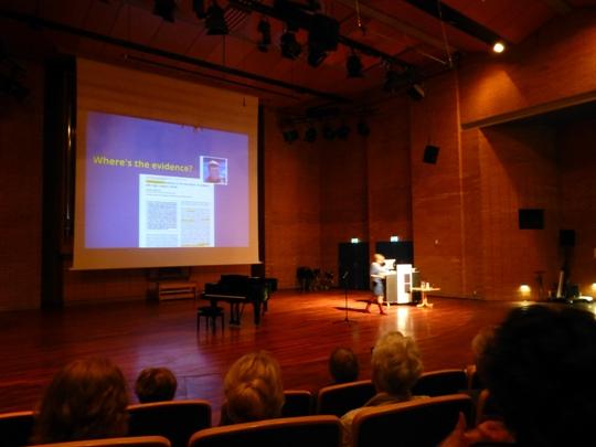 Sesja plenarna - wystąpienie prof. Katriny McFerran