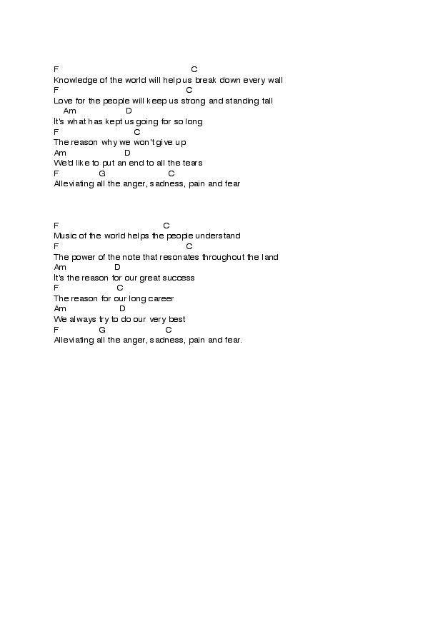 Music Of The World Lyrics and chords-page-002